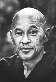 Photo of Shunryu Suzuki