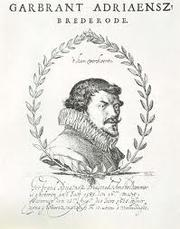 Photo of Gerbrant Adriaensz. Bredero