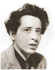 Photo of Hannah Arendt