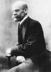 Photo of Émile Durkheim
