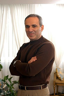 Photo of G. K. Kasparov