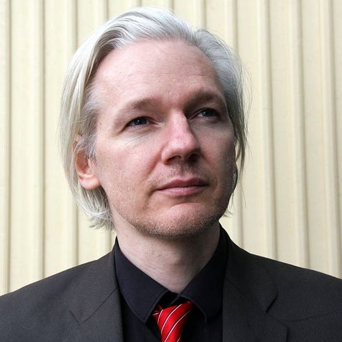 Photo of Julian Assange