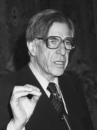 Photo of John Kenneth Galbraith
