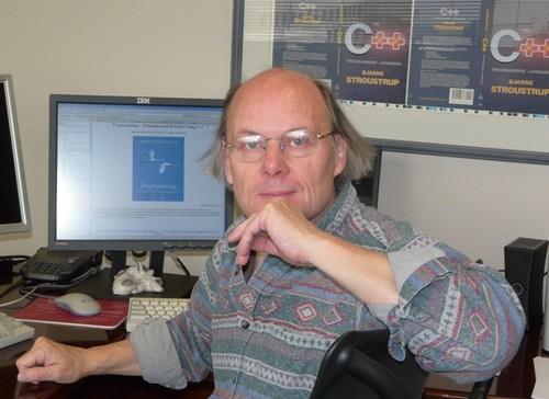 Photo of Bjarne Stroustrup
