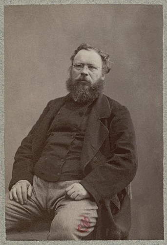 Photo of P.-J. Proudhon