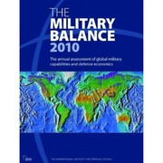 Cover of: The military balance | International Institute for Strategic Studies