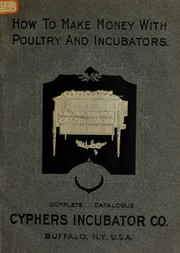 Cover of: Seventh annual cataloge of Cyphers Incubator Company | Cyphers Incubator Company