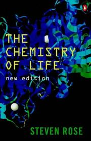 Cover of: The Chemistry of Life