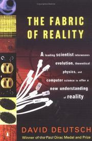 Cover of: The Fabric of Reality: The Science of Parallel Universes and Its Implications