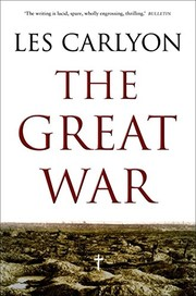 Cover of: The Great War | Les Carlyon