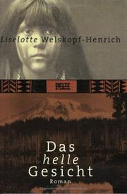 Cover of: Das helle Gesicht