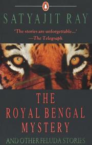 Cover of: The royal Bengal mystery and other Feluda stories
