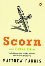 Cover of: Scorn With Extra Bile