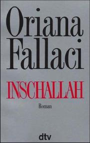 Cover of: Inschallah. Roman