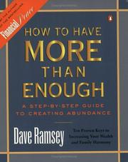 Cover of: How to Have More than Enough