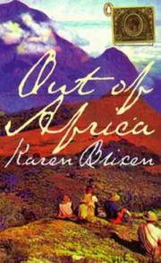 Cover of: Out of Africa