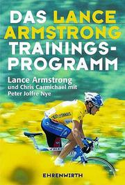 Cover of: Das Lance- Armstrong- Trainingsprogramm