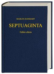 Cover of: Septuaginta