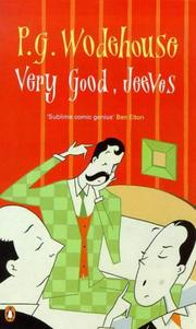 Cover of: Very good, Jeeves