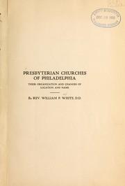Presbyterian churches of Philadelphia