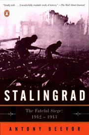 Cover of: Stalingrad: The Fateful Siege: 1942-1943
