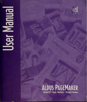 Cover of: Aldus PageMaker version 5.0 |