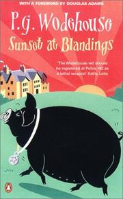 Cover of: Sunset at Blandings: A Blandings Story