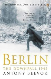 Cover of: Berlin | Antony Beevor