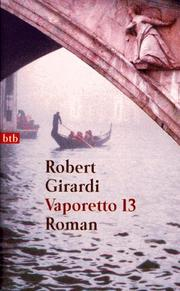 Cover of: Vaporetto 13