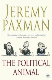 Cover of: The Political Animal | Jeremy Paxman