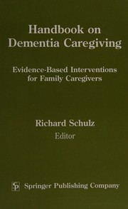 Cover of: Handbook on dementia caregiving