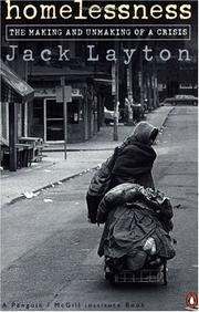 Homelessness by Jack Layton