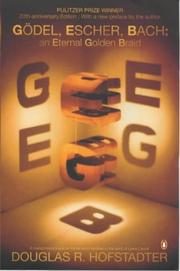 Cover of: Godel, Escher, Bach