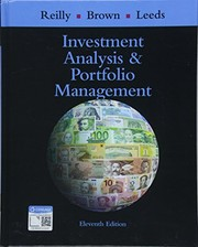 Cover of: Investment Analysis and Portfolio Management
