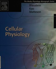 Cover of: Cellular physiology | Mordecai P Blaustein