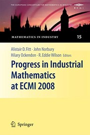 Cover of: Progress in Industrial Mathematics at ECMI 2008