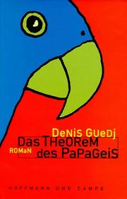Cover of: Das Theorem des Papageis