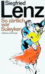 Cover of: So Zartlich