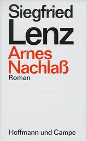 Cover of: Arnes Nachlass