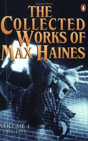 Cover of: The collected works of Max Haines