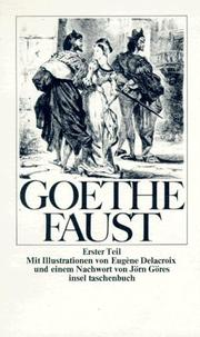Cover of: Faust I: Scene by scene.  An interpretation of form and content by W.H. Bruford.