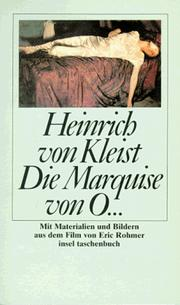 Cover of: Die Marquise von O