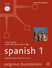 Cover of: Foundations Spanish | Cathy Holden, Maria Del Carmen Gil Ortega
