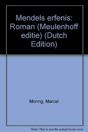 Cover of: Mendels erfenis