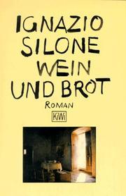 Ignazio silone open library kiwi taschenbcher nr55 wein und brot fandeluxe Images