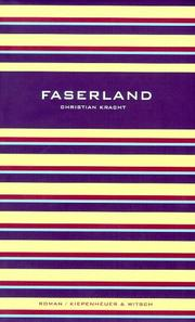 Cover of: Faserland