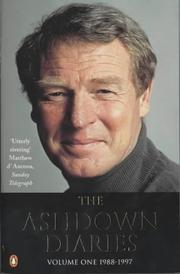 Cover of: Ashdown Diaries, 1988-1997