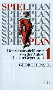 Cover of: Spielplan