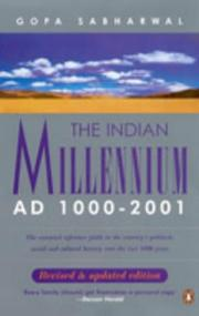 Cover of: India: Another Millennium?