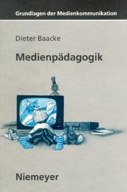 Cover of: Medienpädagogik